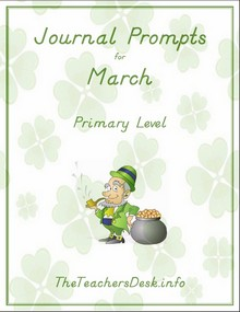 March Primary Journal Prompts