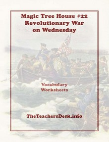 Tree House #22 Revolutionary War on Wednesday Vocabulary Worksheets ...